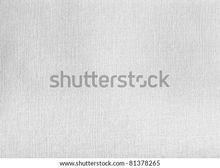 A White Canvas texture. Good for backgrounds. - stock photo