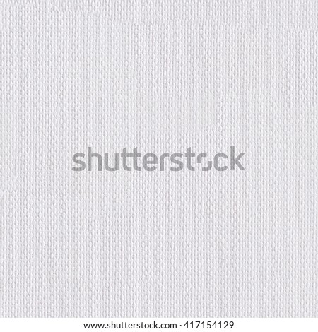 A white canvas texture. Seamless square texture. Tile ready. - stock photo