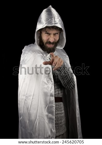 a white magician - stock photo