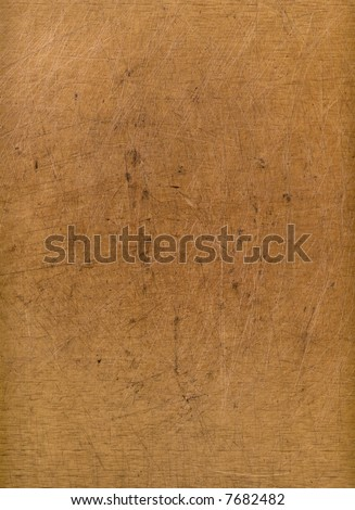 A wood block used as a cutting board, suitable as a background texture. - stock photo