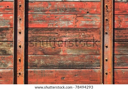 a wood wall - stock photo