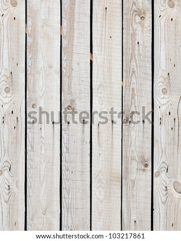 a wooden fence - stock photo