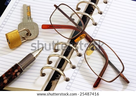 A working space - stock photo