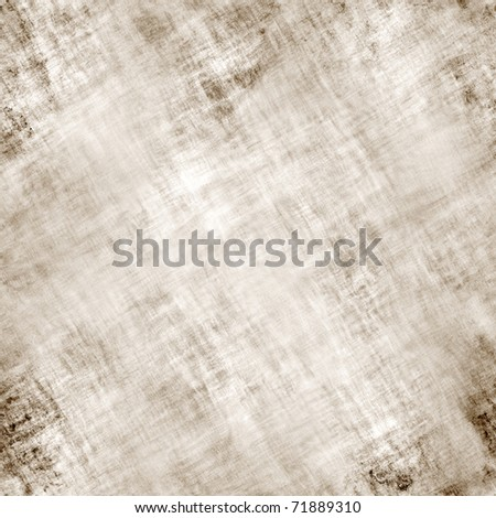 A worn looking grunge background texture in a brownish tone. This tile seamlessly as a pattern in any direction. - stock photo
