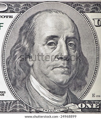 A worried Ben Franklin