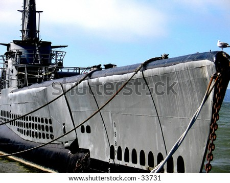 A WWII Submarine