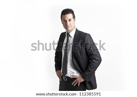 A young businessman