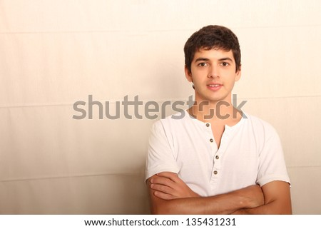 A young confidence man. - stock photo