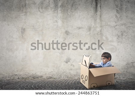 A young driver  - stock photo