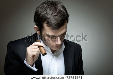 A young gambler having a bad day - stock photo