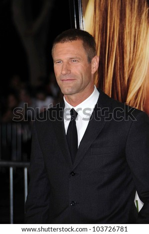 Aaron Eckhart  at the World Premiere of 'Love Happens'. Mann Village Theatre, Westwood, CA. 09-15-09
