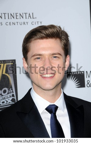 "Aaron Tveit  at the 5th Annual ""A Fine Romance"" Benefit Gala, 20th Century Fox Studios, Los Angeles, CA. 05-01-10"