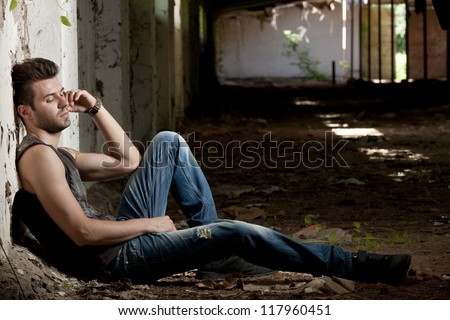 Abandoned - stock photo