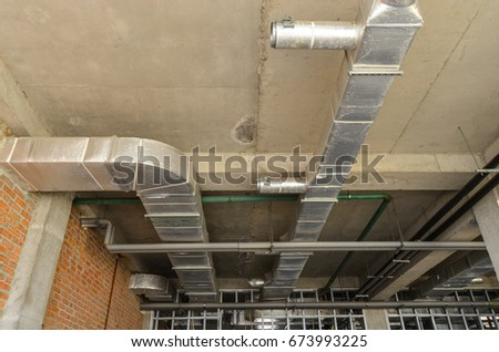 abandoned building construction interior
