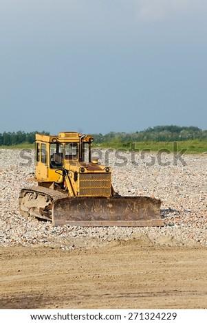 Abandoned Machinery - stock photo