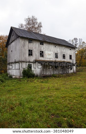 Abandoned Mill  - stock photo