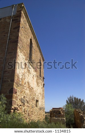 Abandoned Mine Building - stock photo