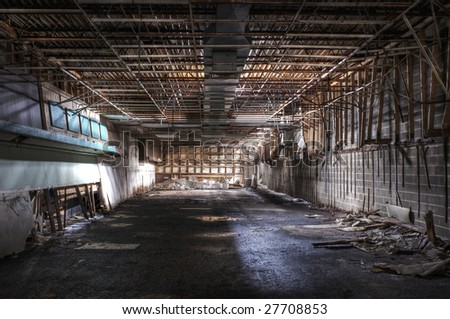 Abandoned Store - stock photo