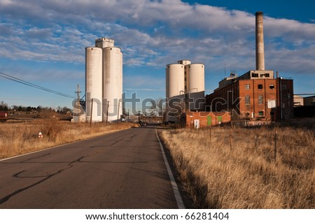 Abandoned Sugar Mill - stock photo