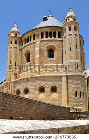 Abbey of the Dormition, abbey and the name of a Benedictine community in Jerusalem on Mt. Zion, Old City near the Zion Gate