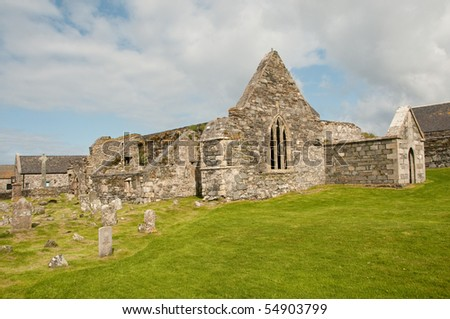 Abbey Ruin on the Isle of Ornsay.