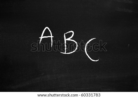 Abc - stock photo
