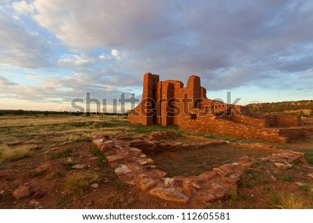 Abo Ruins, Salinas Pueblo Missions National Monument