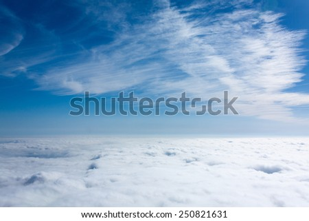 above the clouds8 - stock photo