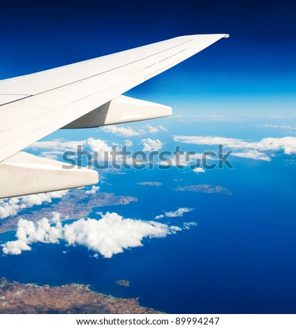 Above the Earth - stock photo