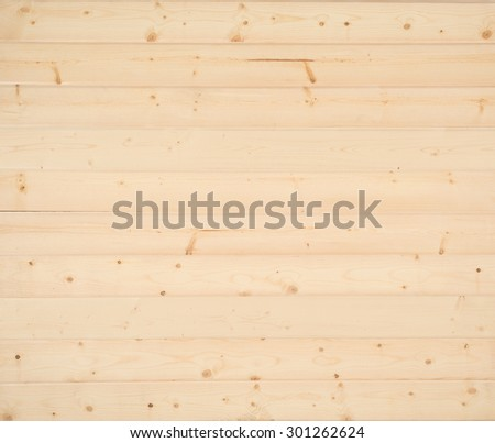 Above View Of New Rustic Natural Pine Shiplap Boards Background With Room Or Space For Copy