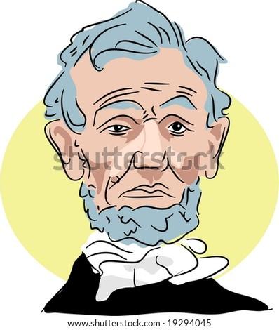Abraham Lincoln - stock photo