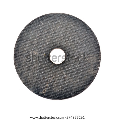 abrasive disc  - stock photo
