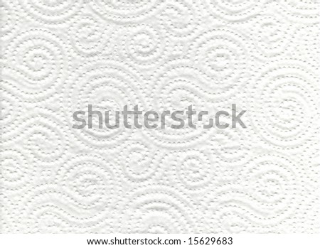 Absorbent Paper. Good for backgrounds and wallpapers - stock photo