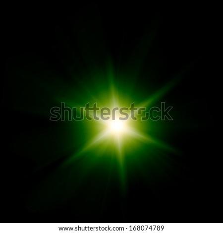 Abstarct light - stock photo