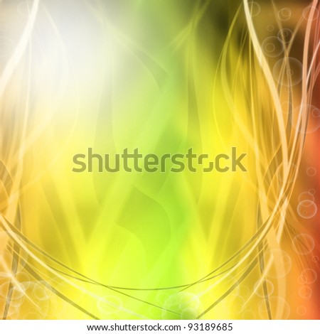 abstarct lights background - stock photo