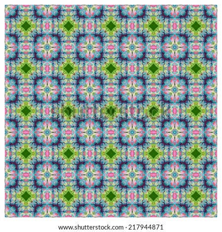 Abstrack background pattern ,created technique from flower - stock photo