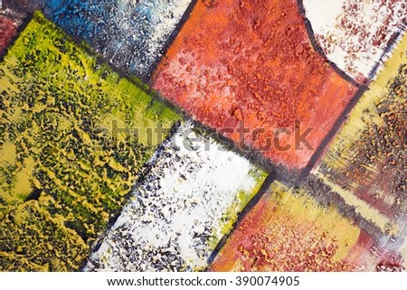 Abstrack oil pain background