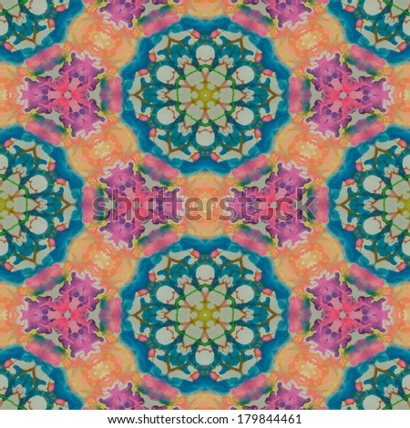 abstrack seamless colorful wallpaper background - stock photo