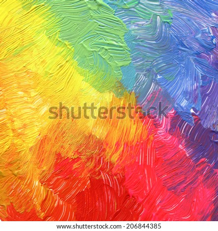 Abstract acrylic and watercolor painted background. - stock photo