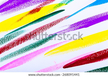Abstract acrylic colourful hand painted background