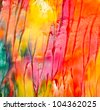 Abstract acrylic painted background - stock