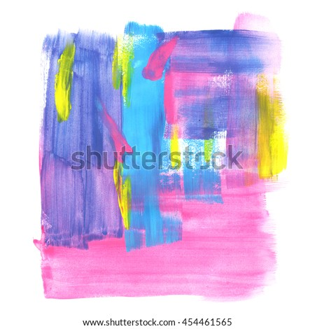 Abstract acrylic painting background.