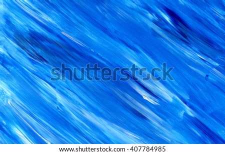 Abstract acrylic texture background. Hand paint brush texture, acrylic textured backdrop. Dynamic Brush Stroke. Art Abstract Space for Text - stock photo