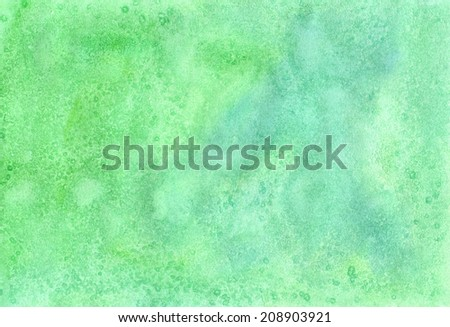 Abstract aguarelle  illustration. Handmade background  with watercolor paints for scrapbooking, for manufacture  posters, cards, postcards, envelopes and other design - stock photo