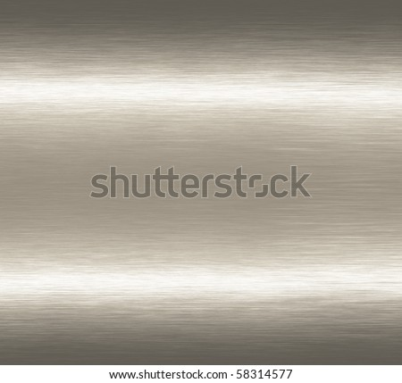 Abstract alloy silver grunge scratched brushed metal background texture. - stock photo