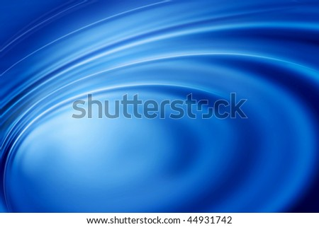 abstract and blue ripples bacground - stock photo