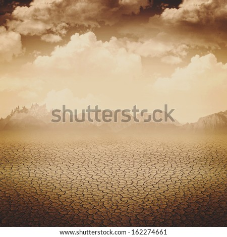 Abstract apocalypse backgrounds for your design - stock photo