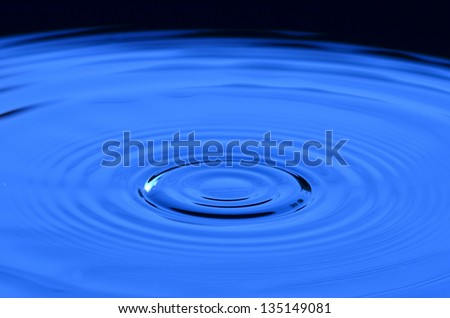 abstract, aqua, background, blue, bubble, calm, circle, closeup, cold, dew, drink, drop, droplet, fresh, freshness, purity, raindrop,blue, relax, ripple, shape, smooth, splash, surface, water, wave - stock photo