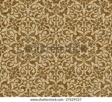 Abstract arabic seamless background. (See more seamles backgrounds in my portfolio). - stock photo