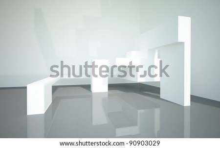Abstract Architecture 3 - stock photo